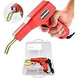 Soldadura de plástico Máquina Kit de reparación de parachoques de coche, 50W calientes Grapadoras Soldadura Reparando Máquina