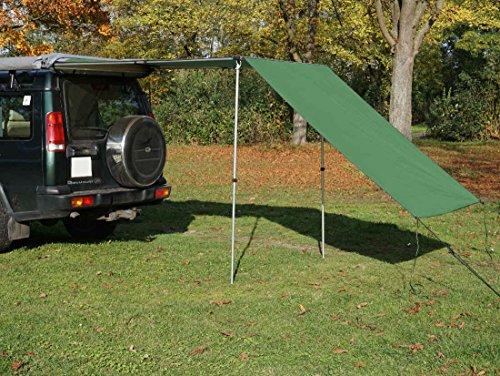 Tarp / Erweiterung zu Fahrzeugmarkise 150cm in grün von Prime Tech