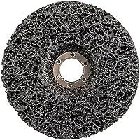 Silverline 339923 Disco abrasivo de poli carburo, 0 V, Negro