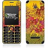 Nokia Asha 206 Case Skin Sticker aus Vinyl-Folie Aufkleber Sonnig Blumen Muster