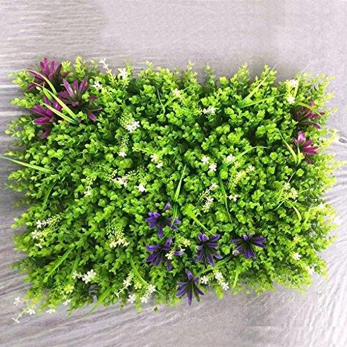 Tappeto erboso artificiale, Tappeto erboso artificiale, Erba sintetica finta per arredo interno/esterno, Decorazione vegetale finto fiore (Color : 5)