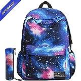 Zaino per la scuola, Skl Galaxy bag unisex School bag Collection zaino in tela Upgrated Blue