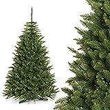 FAIRYTREES künstlicher Weihnachtsbaum FICHTE NATUR, Material PVC, inkl. Ständer, 180cm, FT01-180