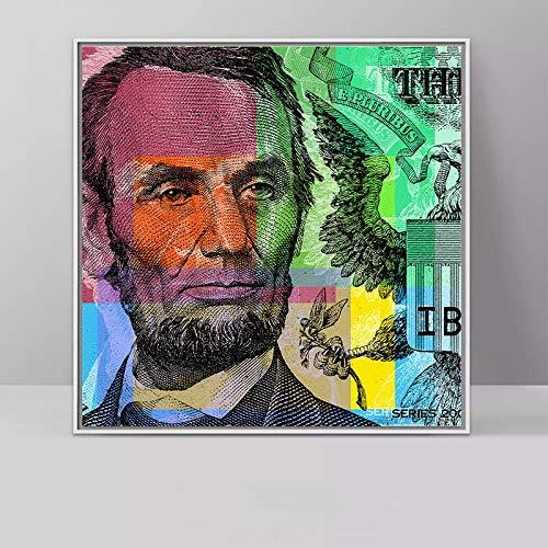 haotong11 Dropship HD Leinwanddruck Home Decor Kunst Malerei Die Wahlurne Ist Stärker Als Die Kugel Abstrakte Ungerahmt Leinwand wandkunst 48 * 48 cm -