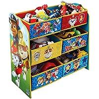 TW24 Aufbewahrungsregal - Spielzeugkiste - Spielzeugtruhe - Disney Regal 6 Boxen mit Motivauswahl (Paw Patrol) preisvergleich bei kinderzimmerdekopreise.eu