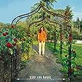 Pötschke Ambiente Rosenbogen Kingsbury Park, extra-groß von Pötschke Ambiente - Du und dein Garten