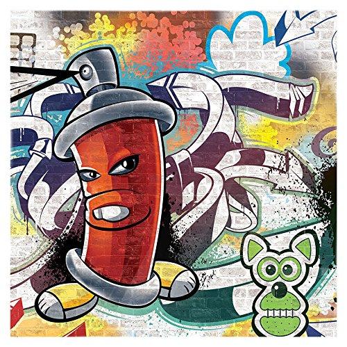 Bombe De Peinture Graffiti Attention Mamie Dgaine Sa Bombe De