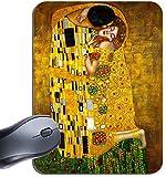Gustav Klimt il bacio Art Nouveau Stampa tappetino per il Mouse. Art Mouse Pad di alta qualità