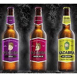 Cerveza KADABRA Pack degustación avanzada de 12 unidades de 33cl