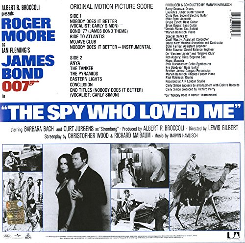 James Bond: The Spy Who Loved Me (Limited Edition) [Vinyl LP] - 2