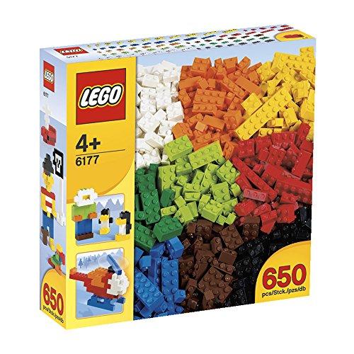 Imagen 1 de LEGO - Piezas básicas (6177) [versión en inglés]