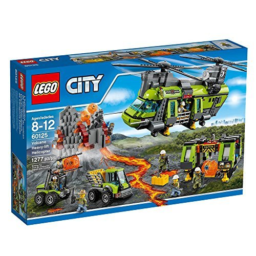 Preisvergleich Produktbild LEGO City Volcano Heavy-lift Helicopter 60125 by LEGO