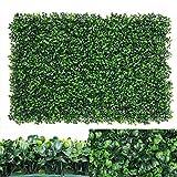 yuema Usine Artificielle Anti-UV Artificielle de haie de Mur de Vert d'écran Vert de Jardin