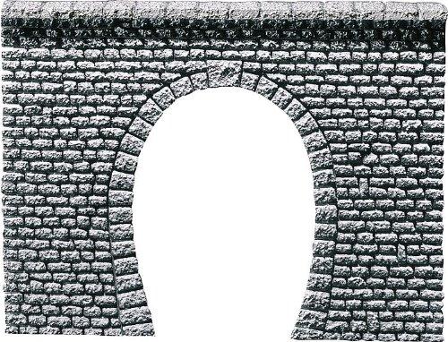 "FALLER 170880 - Tunnelportal Profi \""Naturstein Quader\"",1-gleisig"