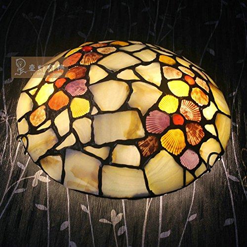 Quietness @ Loft Nordic Deckenleuchte Designer kreative Persönlichkeit Lampen für Kinder Schlafzimmer Esszimmer Wohnzimmer Lager Muschel Deckenlampe, (Muscheln Malerei)