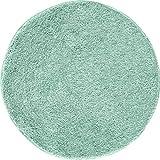 Grund LEX rd.100 cm mintgrün Badteppich, Kunstfaser, 100 x 100 x 3,2 cm