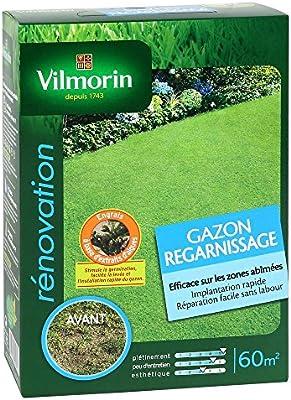 Vilmorin 4464953 - Resiembra de césped caja de 1kg