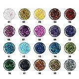 Sticky Style Konfetti UV Glitter Gele Gelset 15 x 5ml Sparset