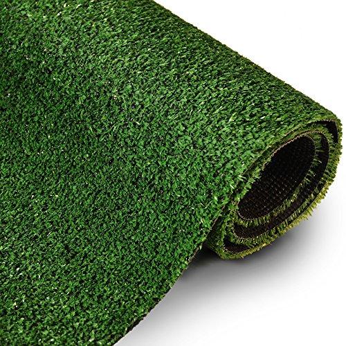 Rasenteppich Gesamthöhe 7 mm 1400 gr Gesamtgewicht Rasenteppich (200 cm x 200 cm)