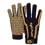 Optimum Boys' Velocity Full Finger Gloves - Black, Small Boys (5-6 Inch)
