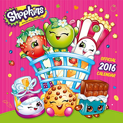 The Official Shopkins 2016 Square Calend...