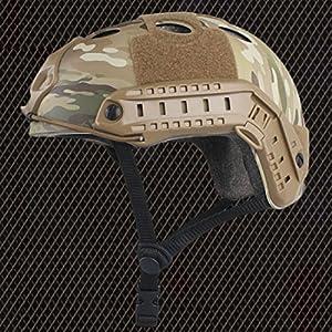 SWAT style militaire de l'armée Type de PJ de combat rapide Casque Multicam MC pour Airsoft