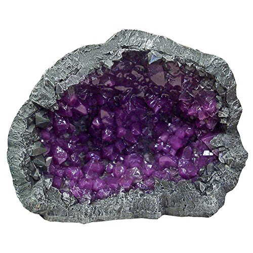 Blue Ribbon 006082Exotic Umgebungen Geoden Stein Violett, 11,4cm