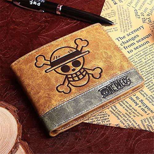 NOBRAND Anime Wallet One Piece Carteras De Juegos