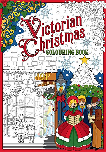 Victorian Christmas Colouring Book (Victorian Puzzle Christmas)