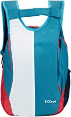 Stylish New Casual Backpack | Laptop Bag | College Bag | School Bag for Boys, Girls(21 L) BLU-WHT