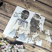 Vuoi essere la mia testimone/damigella? Puzzle biglietto per testimone o damigella di nozze matrimonio, personalizzato, disegno a scelta