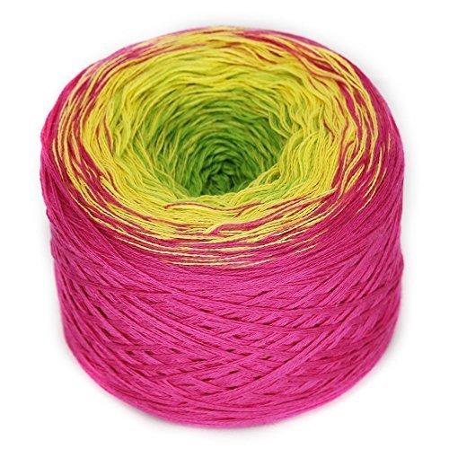 Bobbel, Farbe 21 lollipop, 4-fach gefachtes Garn zum Häkeln und Stricken, 200 Gramm Knäuel ca. 800 M LL, toller Farbverlauf ()