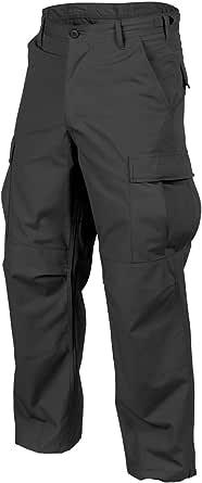 Helikon Genuine Men's BDU Trousers Polycotton Ripstop Black