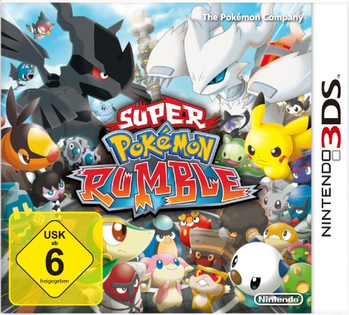 Nintendo Pokemon Für Das Super (Super Pokémon Rumble)