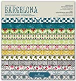 SCRAPBOOKING KIT, pad Barcelona 8''x8'' …
