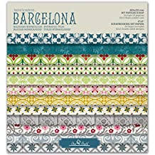 Scrapbook Barcelona - Pad 8''-203mm // Kit papeles para scrapbooking