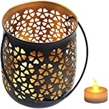 Mehrunnisa Mughal Flower Jaali Work Tea Light / Candle Holder With Free LED Candle (MEH1800)