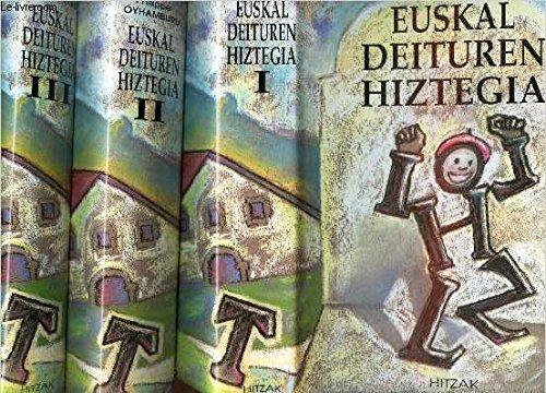 Euskal deituren hiztegia =: Dictionnaire des patronymes basques = Diccionario de apellidos vascos par Philippe Oyhamburu