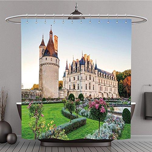 Welt Auf Harry Potter Zauberstäbe (Duschvorhang 172617338das Schloss Chenonceau Frankreich. Das Schloss liegt in der Nähe der kleinen Dorf von chenonceaux in die Loire Valley Erbaut in der 1516Jahrhunderte und ist ein Tourist Att, Polyester,)