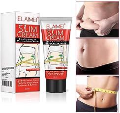 Anti-Cellulite-Creme, KOBWA Slimming Cream, Body Serum, Slim Creme Fettverbrennung Creme Ziele Cellulite auf Oberschenkel, Bauch, Gesäß, Arme und mehr - beruhigt und strafft die Haut