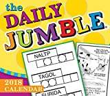 The Daily Jumble 2018 Calendar