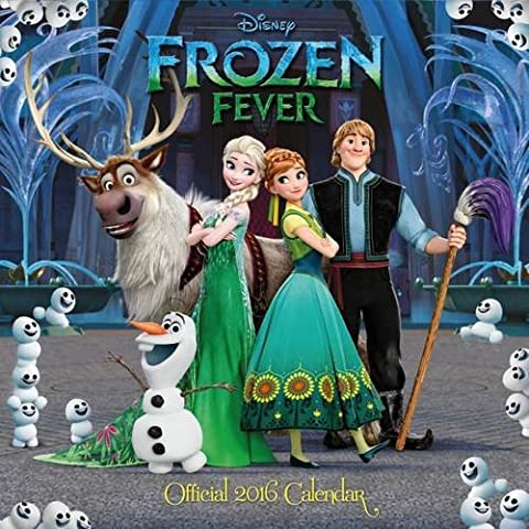 Calendrier Chinois 2016 - The Official Disney Frozen Fever 2016 Square
