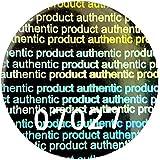 """Gran holograma pegatinas numeradas, 20 mm de plata redonda etiquetas,""""producto auténtico"""", precinto, gubernamentalmente, garantía, seguridad, color plata"""