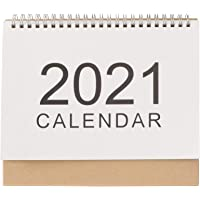 VALICLUD Calendario da Tavolo 2021 Planner Pagine Memo Stand up Calendario da Tavolo Scuola Aula Home Office Calendario…
