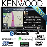 Kenwood DNX8180DABS - 2-DIN NAVI | DAB+ | Bluetooth | CD/DVD | Apple CarPlay | Autoradio