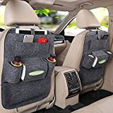 #1: Kuber Industries Vehicle Car Back Seat Mounted Hanging Organizer Bag Set of 2 Pcs-CB07