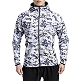 Search : Broki Mens Gym Zip Hoodie Sweatshirts, Workout Bodybuilding Fitted Muscle Slim Fit Hoody Jacket With Pockets