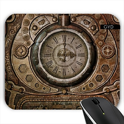 Mousepad - Vintage Steampunk Uhr by Gatterwe