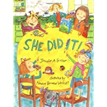 She Did It! by Jennifer A. Ericsson (2002-03-15)
