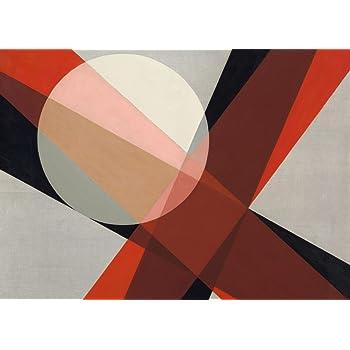 "LASZLO MOHOLY-NAGY  /""SRho 1/"" 250gsm Bauhaus Constructivism Poster"